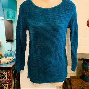 URBAN OUTFITTERS TEAL COTTON RAYON SWEATER XS